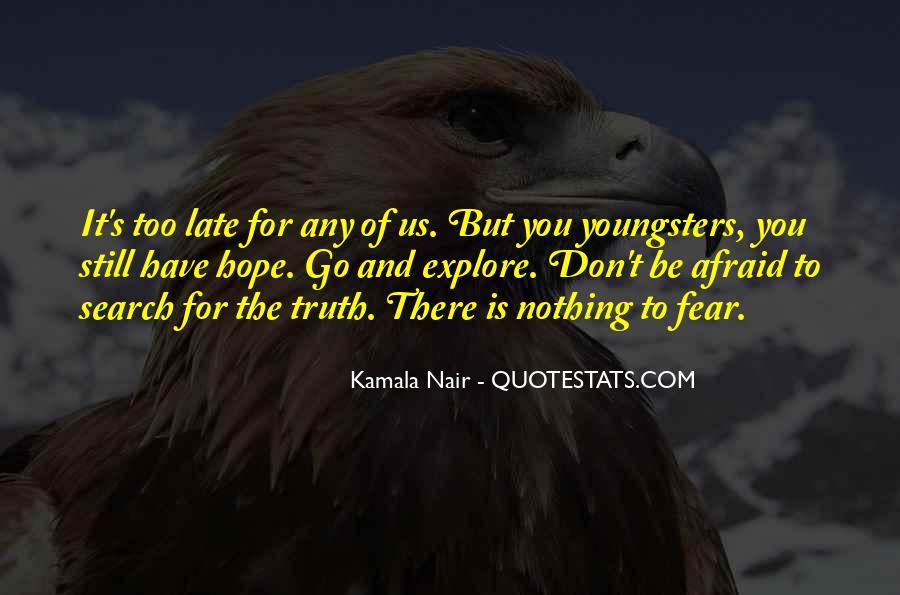 Kamala Nair Quotes #1201325