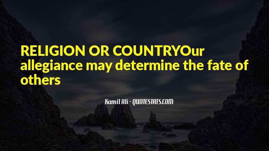 Kamil Ali Quotes #1645709
