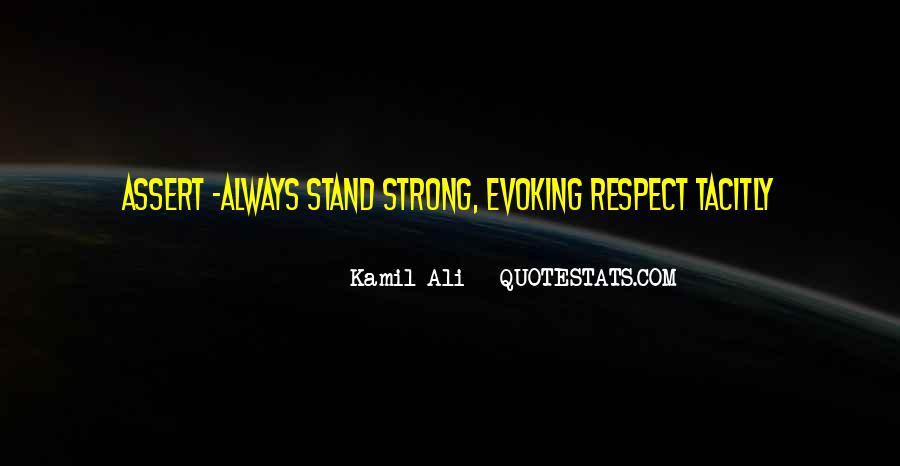 Kamil Ali Quotes #1652165