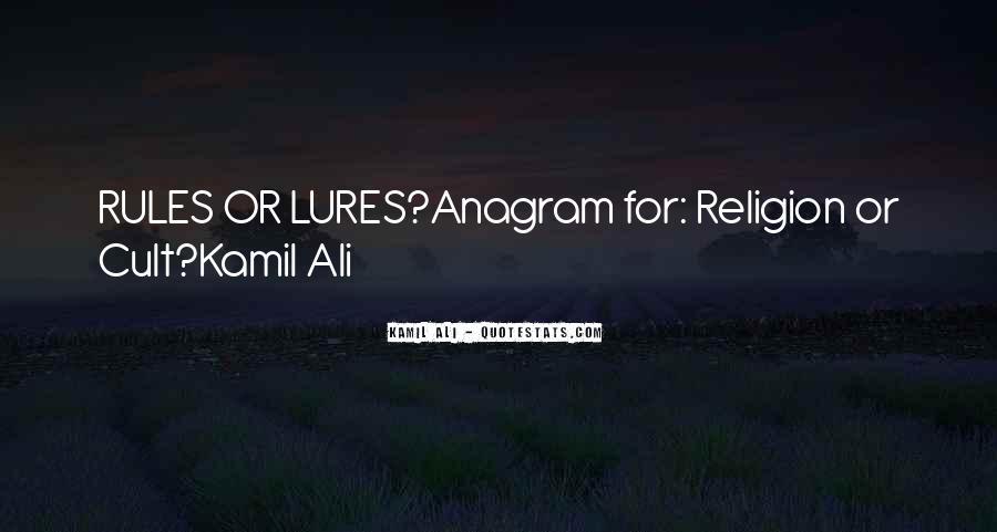 Kamil Ali Quotes #1653978