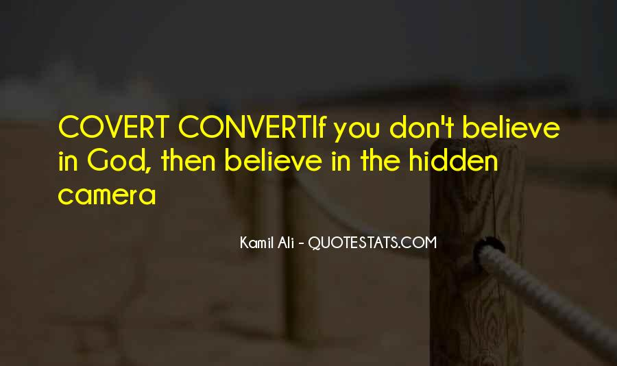 Kamil Ali Quotes #1713169