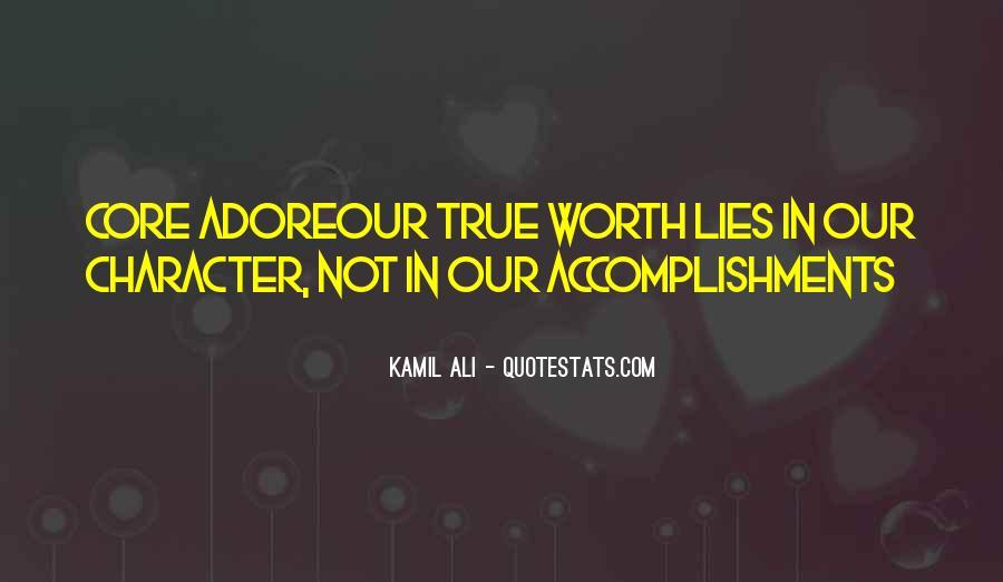 Kamil Ali Quotes #1718255