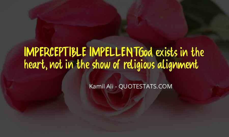 Kamil Ali Quotes #1785791
