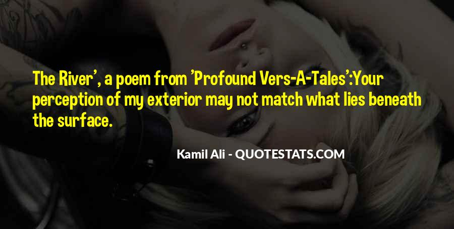 Kamil Ali Quotes #1794531