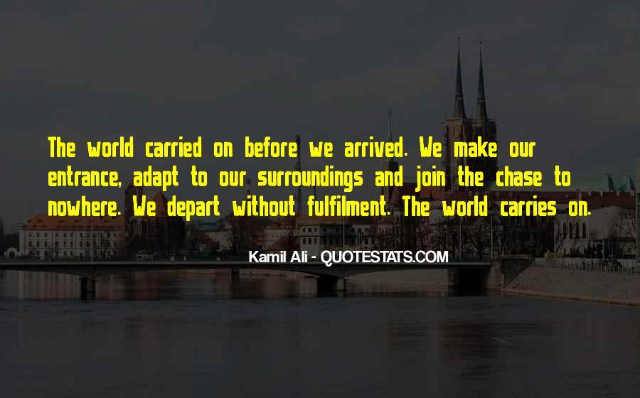 Kamil Ali Quotes #336417