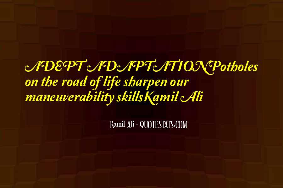 Kamil Ali Quotes #420597