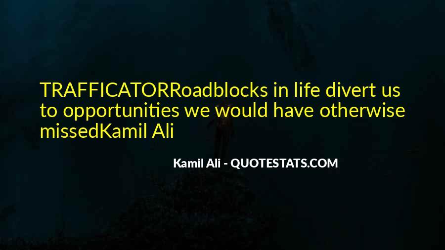 Kamil Ali Quotes #498879