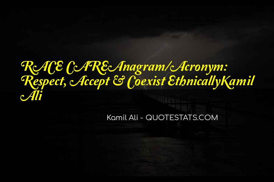 Kamil Ali Quotes #557755