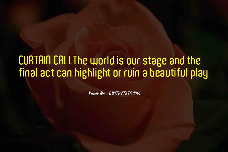 Kamil Ali Quotes #757081