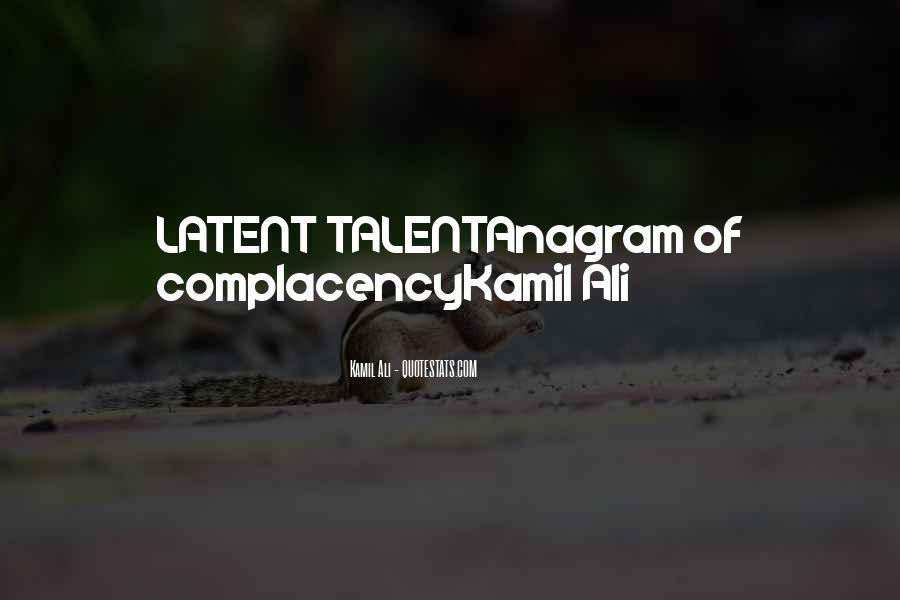 Kamil Ali Quotes #832930