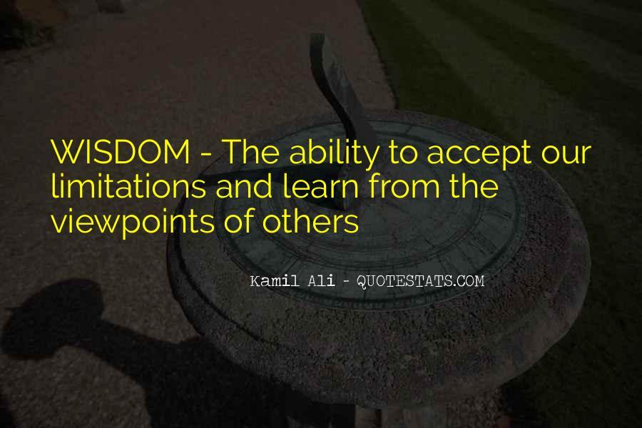 Kamil Ali Quotes #890227