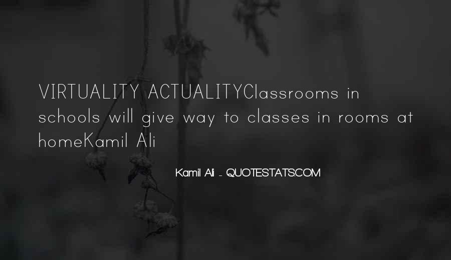 Kamil Ali Quotes #978756