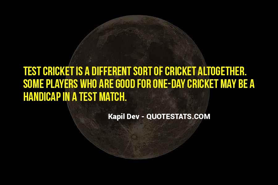 Kapil Dev Quotes #1081356