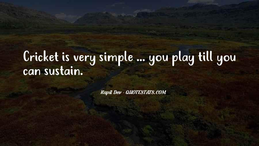 Kapil Dev Quotes #1265271