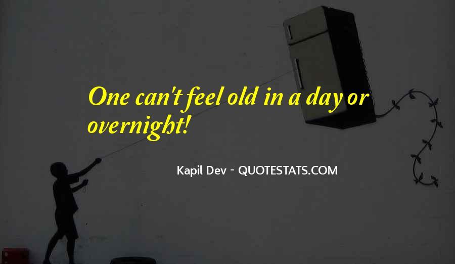 Kapil Dev Quotes #1365190