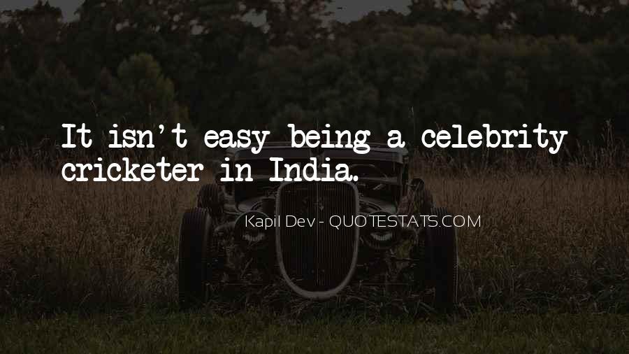 Kapil Dev Quotes #1492381