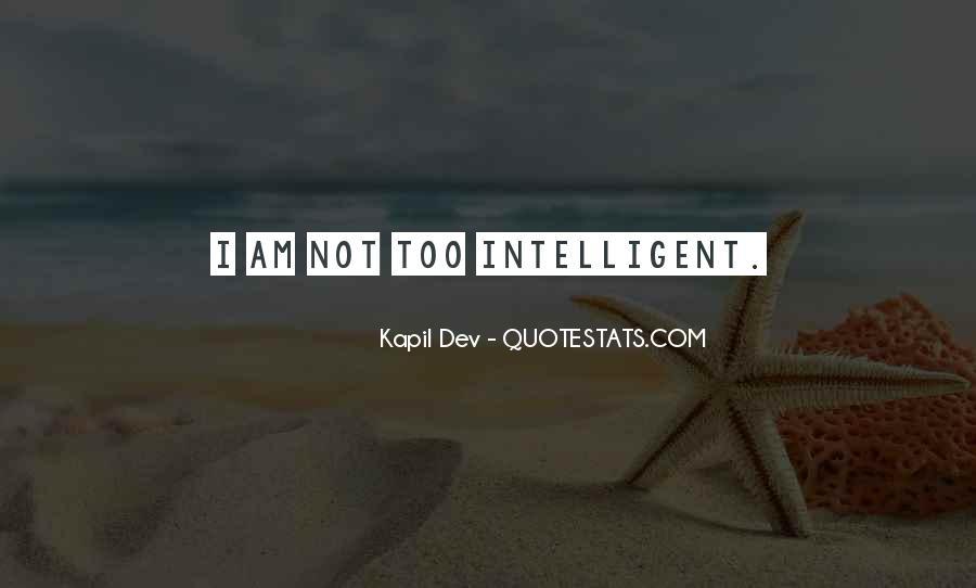 Kapil Dev Quotes #1602185