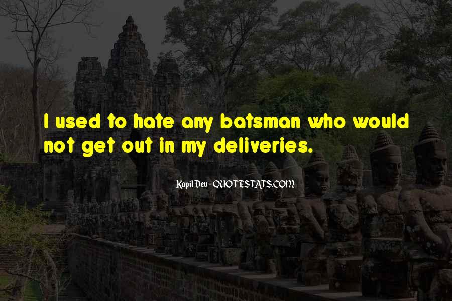Kapil Dev Quotes #1654120