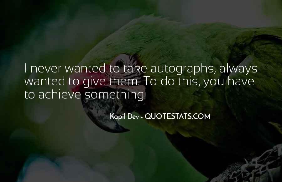 Kapil Dev Quotes #1750463