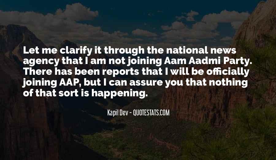 Kapil Dev Quotes #1842477