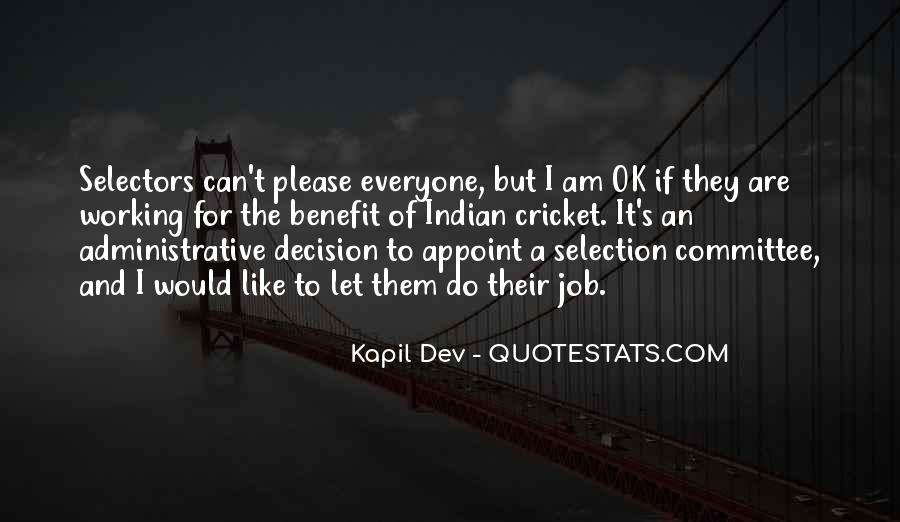 Kapil Dev Quotes #1863919