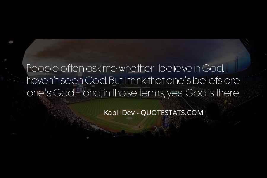 Kapil Dev Quotes #34771