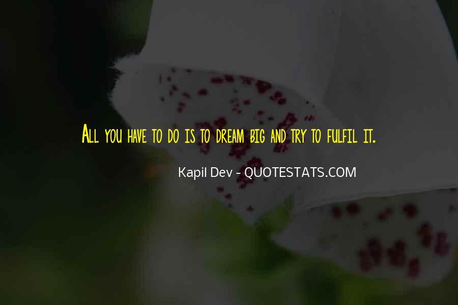 Kapil Dev Quotes #487642