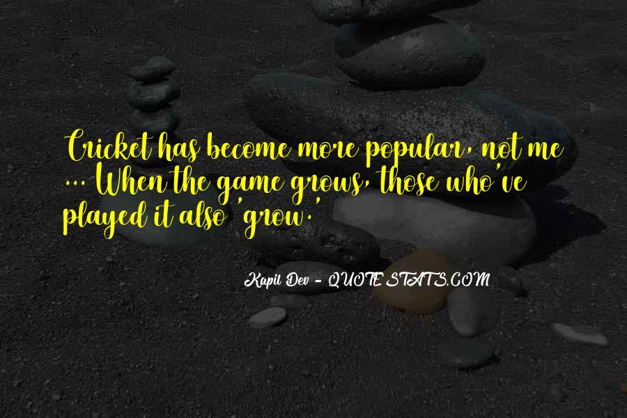 Kapil Dev Quotes #629814