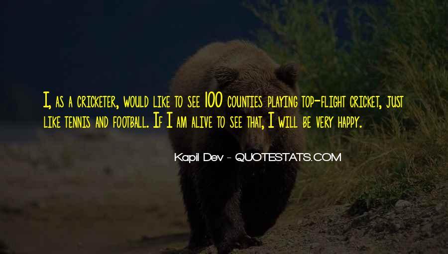 Kapil Dev Quotes #730748