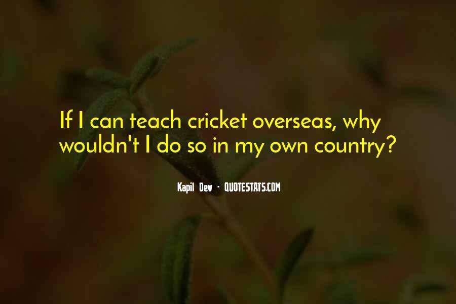 Kapil Dev Quotes #747416