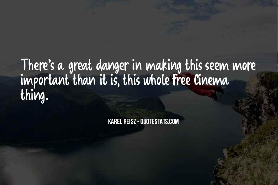 Karel Reisz Quotes #1608031