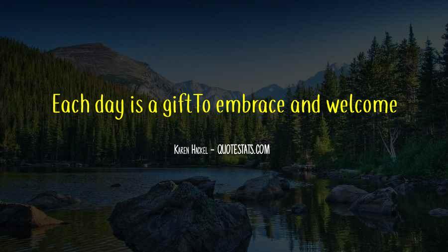 Karen Hackel Quotes #533725