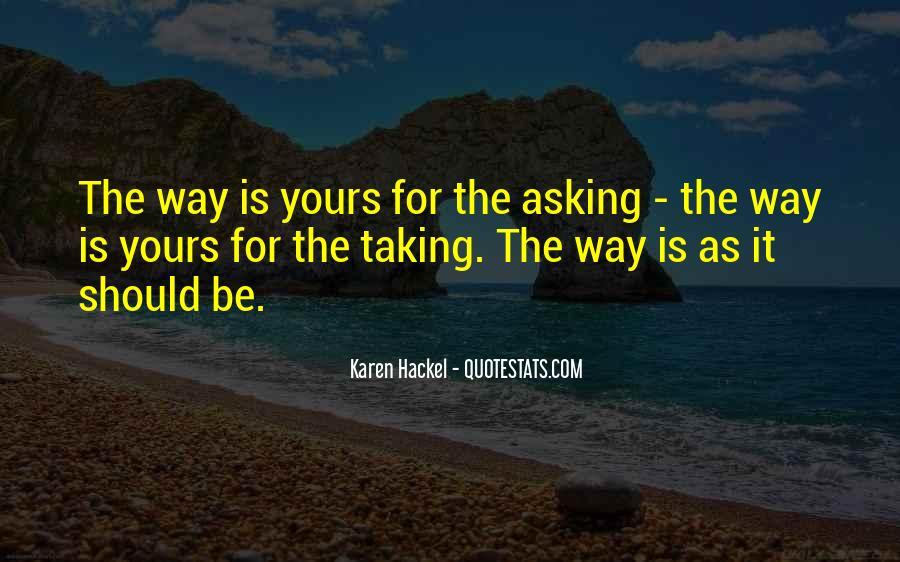 Karen Hackel Quotes #671387