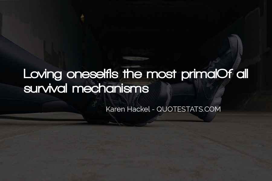 Karen Hackel Quotes #825250