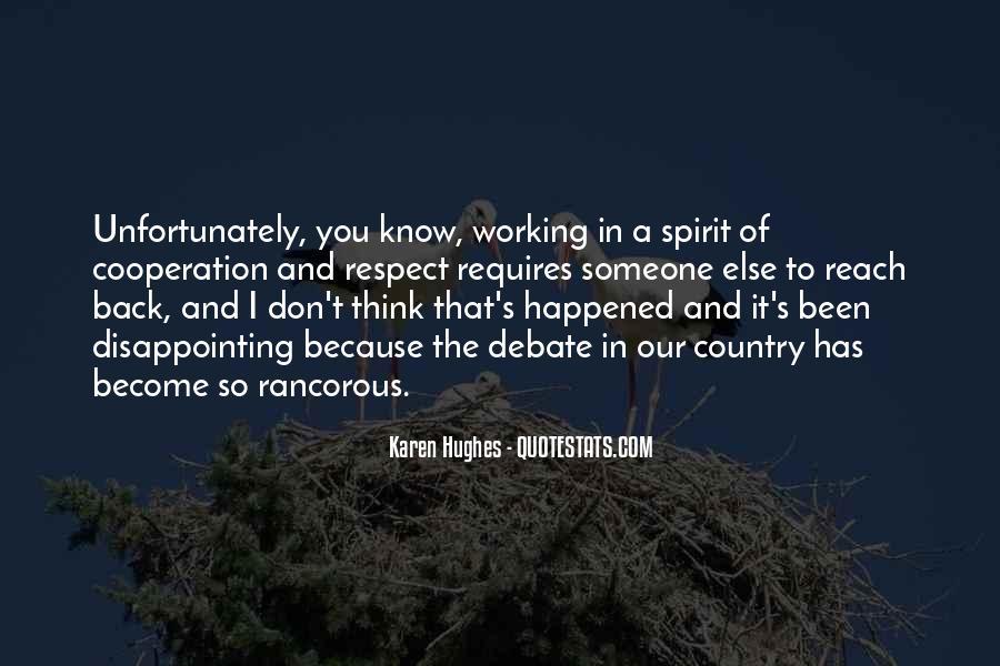 Karen Hughes Quotes #1293492