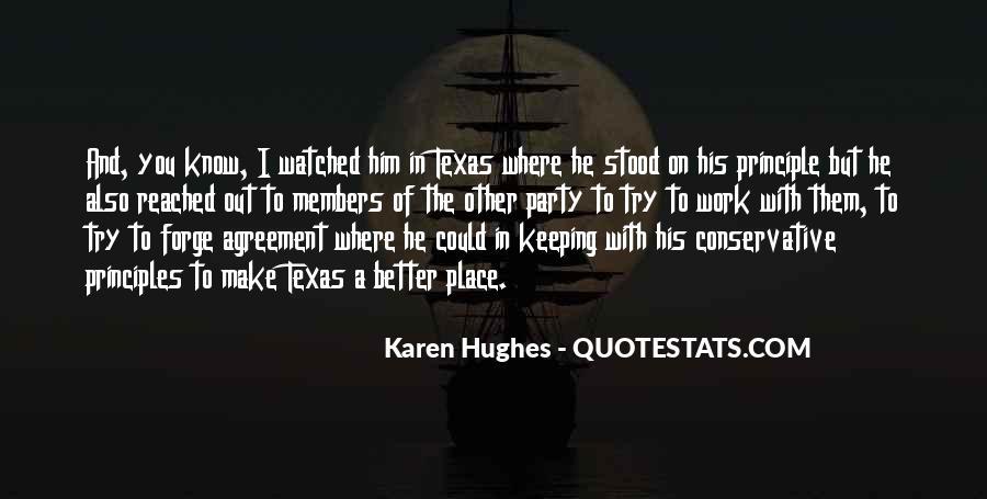 Karen Hughes Quotes #1481160