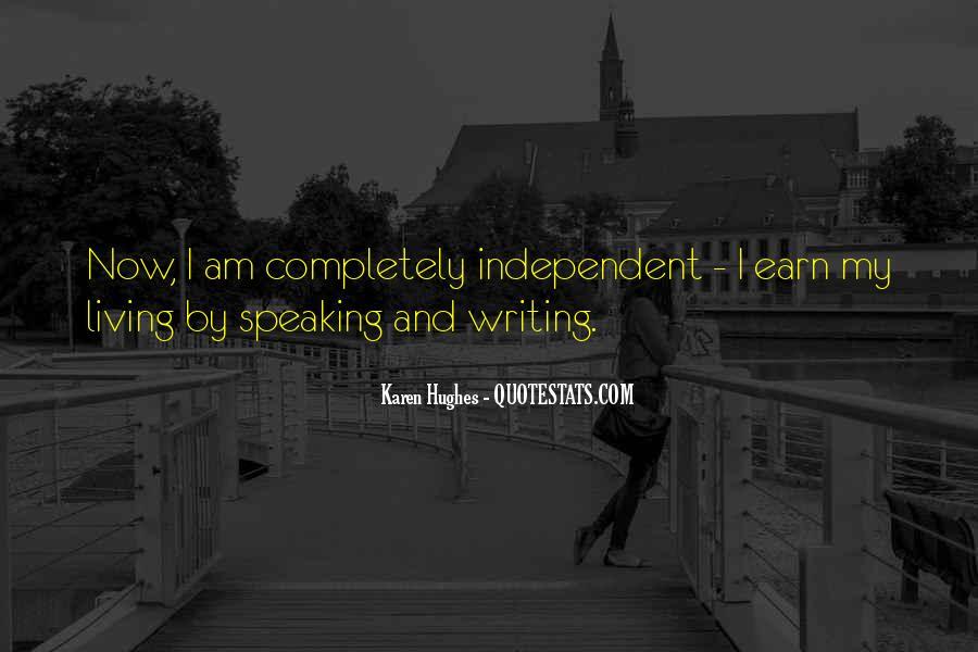 Karen Hughes Quotes #1603855