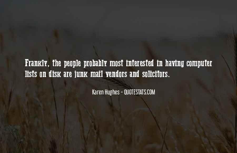 Karen Hughes Quotes #513786