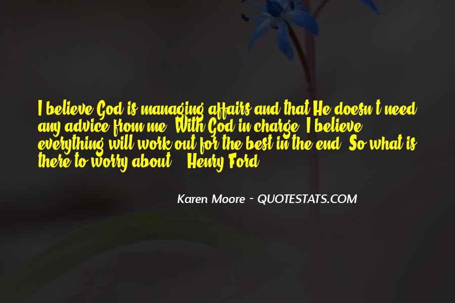 Karen Moore Quotes #895660