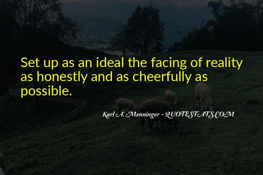 Karl A. Menninger Quotes #121573