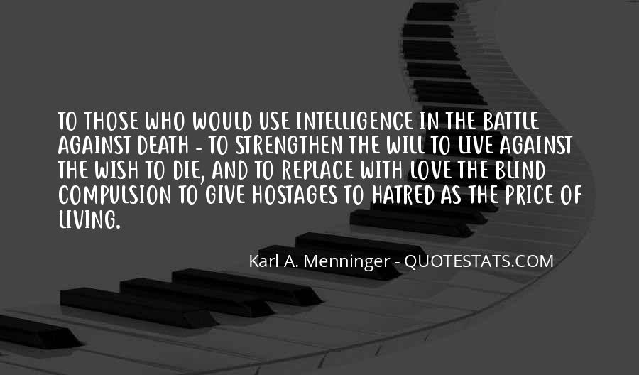 Karl A. Menninger Quotes #1542712