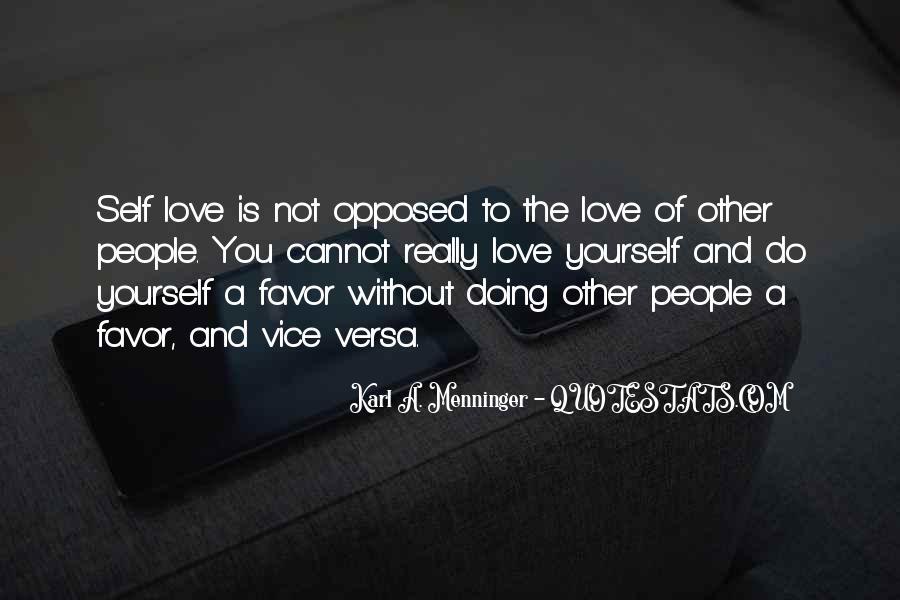 Karl A. Menninger Quotes #1840642
