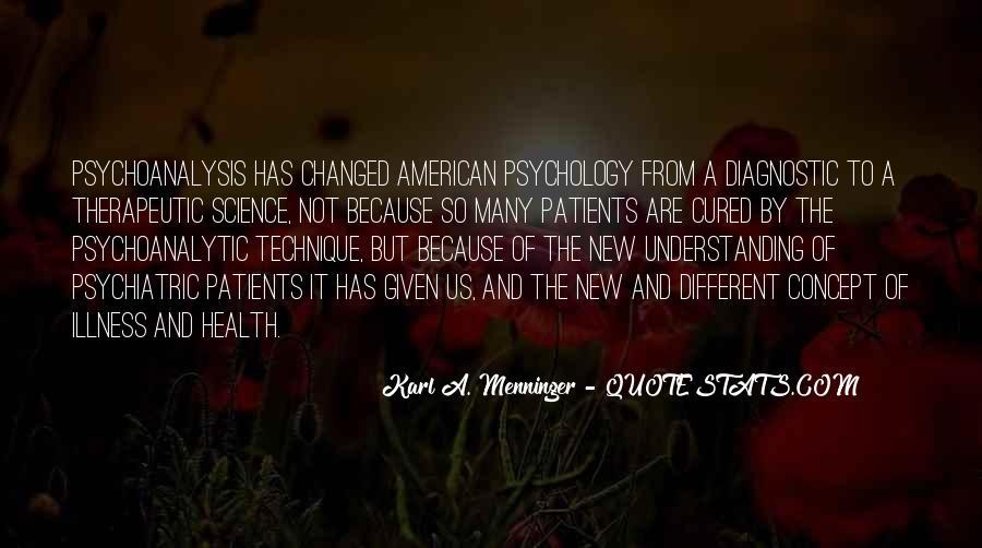 Karl A. Menninger Quotes #318082