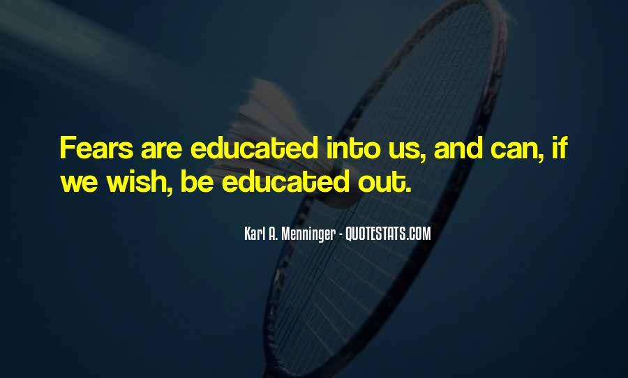 Karl A. Menninger Quotes #401167