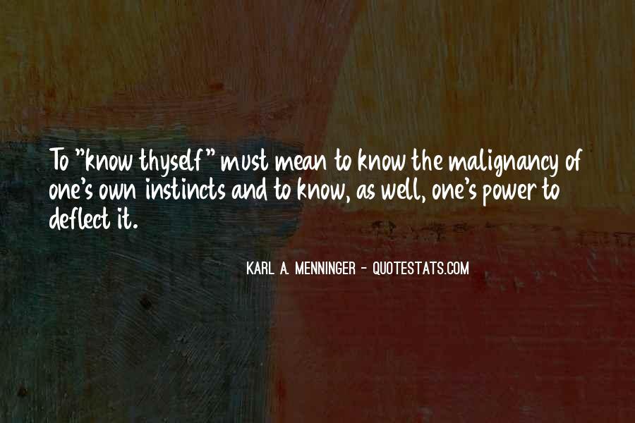 Karl A. Menninger Quotes #543724