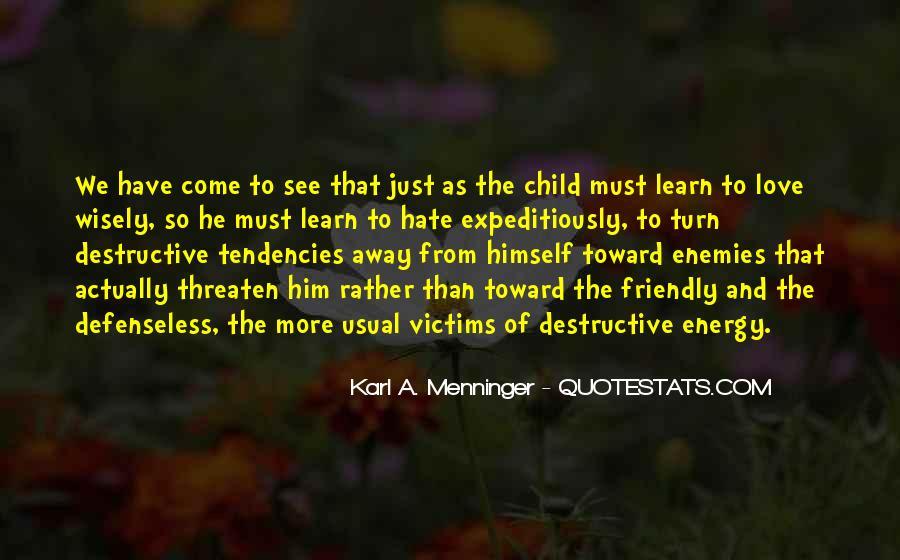 Karl A. Menninger Quotes #562065