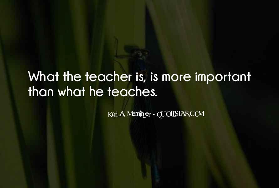 Karl A. Menninger Quotes #873216