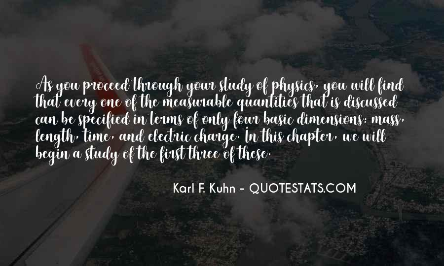 Karl F. Kuhn Quotes #675979