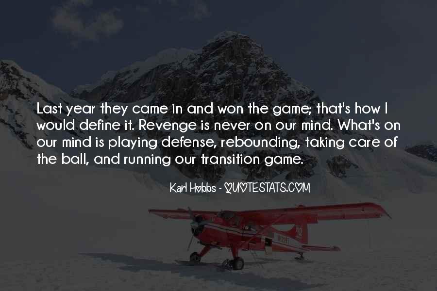 Karl Hobbs Quotes #821483