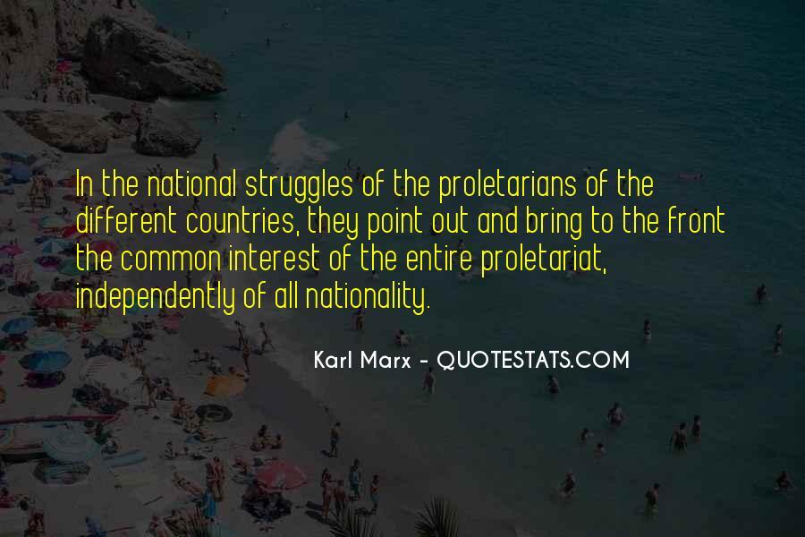 Karl Marx Quotes #1264302